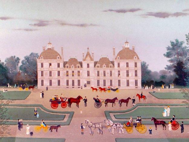 Chateaux De La Loire Suite of 6 1988 Limited Edition Print by Michel Delacroix