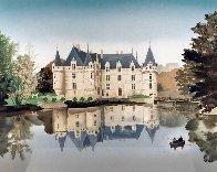 Chateaux De La Loire Suite of 6 1988 Limited Edition Print by Michel Delacroix - 3