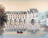 Chateaux De La Loire Suite of 6 1988 Limited Edition Print by Michel Delacroix - 4