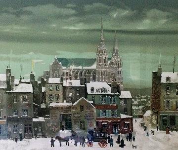Le Cathedral de Chartres Limited Edition Print - Michel Delacroix