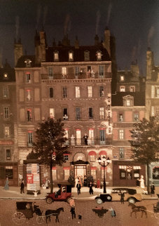 Grande Hotel 1991 Limited Edition Print by Michel Delacroix