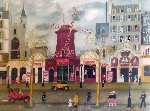 Moulin Rouge 1981 Limited Edition Print - Michel Delacroix