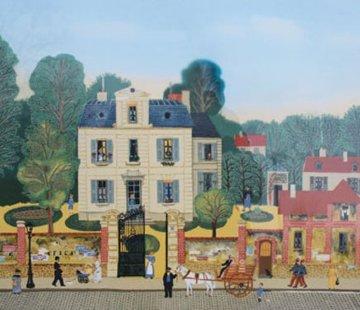 Bonjour Mr. Rousseau 1978 Limited Edition Print by Michel Delacroix