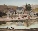 Sortie Du Chenil Limited Edition Print - Michel Delacroix