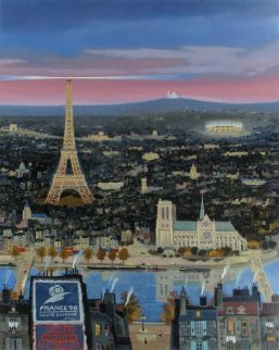 Coupe Du Monde - Paris 1998 Limited Edition Print - Michel Delacroix