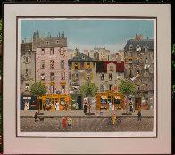 Chez Camille Limited Edition Print by Michel Delacroix - 1