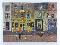 Marketplaces 1990 Limited Edition Print by Michel Delacroix - 1