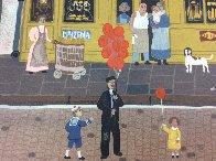 Marketplaces 1990 Limited Edition Print by Michel Delacroix - 2