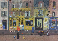 Marketplaces 1990 Limited Edition Print by Michel Delacroix - 0