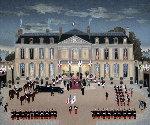 l'Empereur De Japan Au Palais 2002 Limited Edition Print - Michel Delacroix