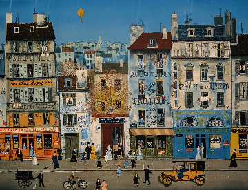 After School  Limited Edition Print - Michel Delacroix