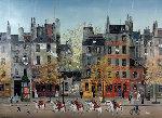 Les Spahis 29x36 Original Painting - Michel Delacroix