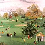 Golf at St. Cloud 1990 Limited Edition Print - Michel Delacroix