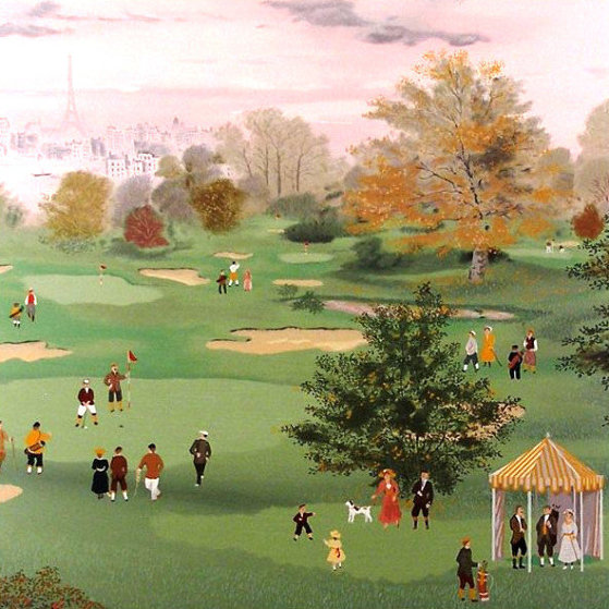 Golf at St. Cloud 1990 Limited Edition Print by Michel Delacroix