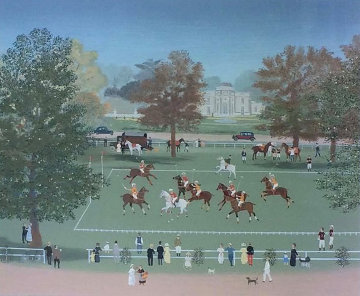 Polo a Bagatelle 1990 Limited Edition Print by Michel Delacroix