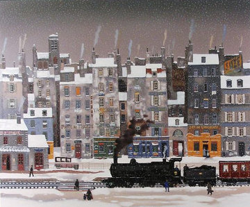 Neige Fume Limited Edition Print by Michel Delacroix