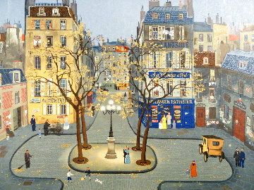 La Place Furstenburg EA Limited Edition Print - Michel Delacroix