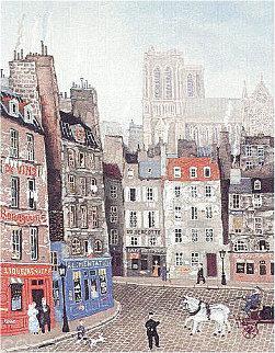L'ombre De La Cathedrale 1994 Limited Edition Print - Michel Delacroix