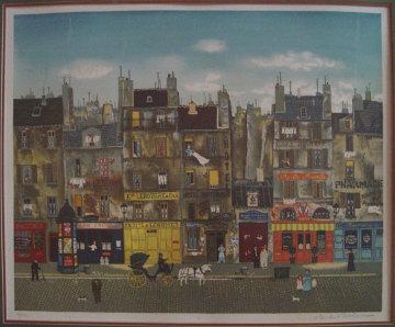 A La Manille 1979 Limited Edition Print - Michel Delacroix