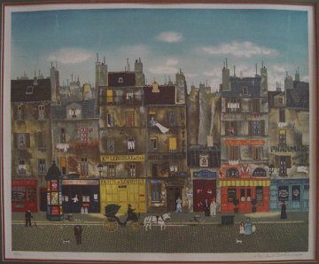 A La Manille 1979 Limited Edition Print by Michel Delacroix