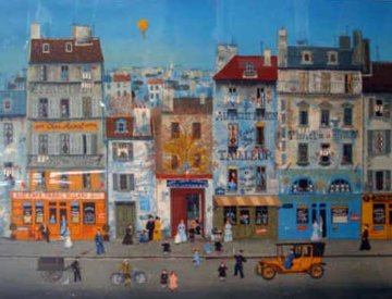 After School Limited Edition Print by Michel Delacroix