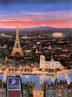 Coupe Du Monde - Paris 1998 Limited Edition Print by Michel Delacroix