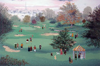 Golf at St. Cloud 1990 Limited Edition Print by Michel Delacroix - 0