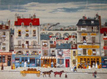 Hotel Bellevue Limited Edition Print - Michel Delacroix