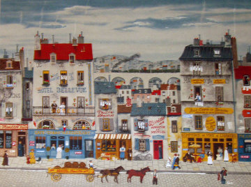 Hotel Bellevue Limited Edition Print by Michel Delacroix