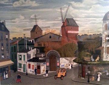 Moulin De La Galett 1979 Limited Edition Print by Michel Delacroix