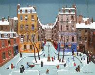 La Place Furstenburg 1975 Limited Edition Print by Michel Delacroix - 0