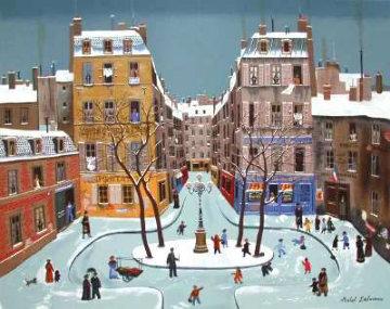 La Place Furstenburg 1975 Limited Edition Print by Michel Delacroix