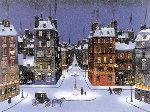 Nuit De December 2008 Limited Edition Print - Michel Delacroix