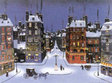 Nuit De December 2008 Limited Edition Print by Michel Delacroix