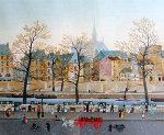 Quai Des Orfevres 2008 Limited Edition Print - Michel Delacroix