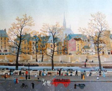 Quai Des Orfevres 2008 Limited Edition Print by Michel Delacroix