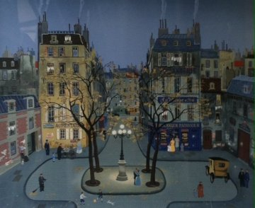 Place Furstenburg AP Limited Edition Print - Michel Delacroix
