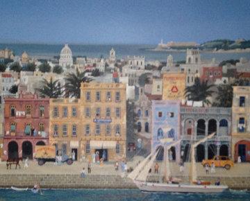La Habana, Havana, Cuba 2002 Limited Edition Print by Michel Delacroix