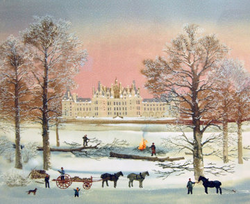 Chambord 1997 Limited Edition Print by Michel Delacroix