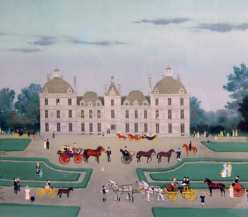 Cheverny 1988 Limited Edition Print by Michel Delacroix
