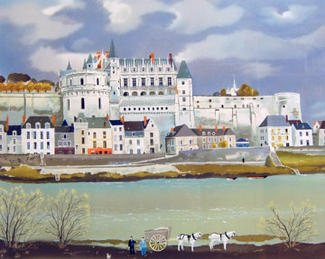Amboise 1987 Limited Edition Print by Michel Delacroix