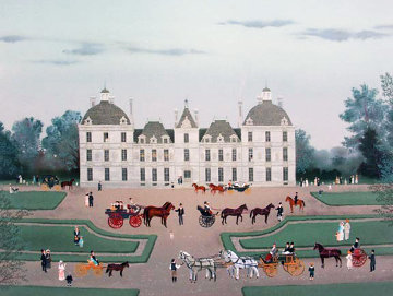 Cheverney 1988 Limited Edition Print by Michel Delacroix