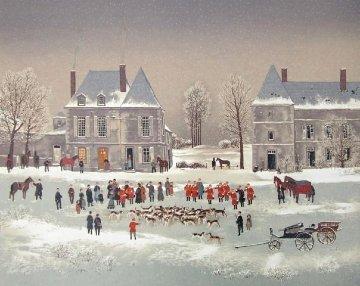 Les Honneurs 1988 Limited Edition Print - Michel Delacroix
