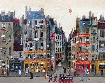 La Fille 1978  Limited Edition Print by Michel Delacroix