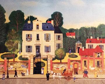 Bonjour Mr. Rousseau 1978 Limited Edition Print - Michel Delacroix