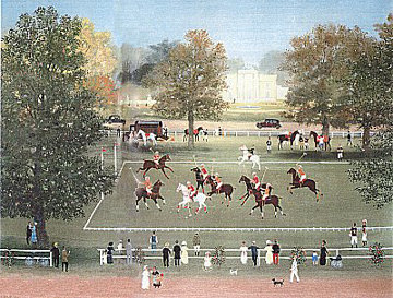Polo a Bagatelle  1990 Limited Edition Print - Michel Delacroix
