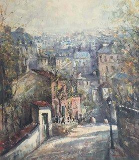Landscape 21x25 Original Painting - Lucien DeLaRue