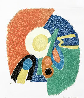 Gravure II 1966 Limited Edition Print by Sonia Delaunay