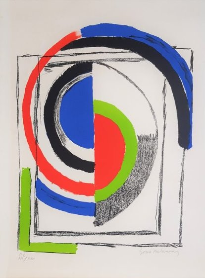 A Jour 1970 Limited Edition Print by Sonia Delaunay