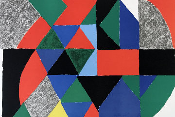 Polyphonie 1970 Limited Edition Print - Sonia Delaunay